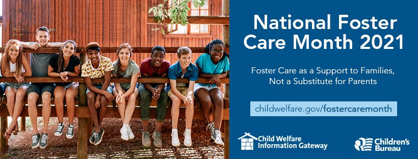 Foster Care Month banner